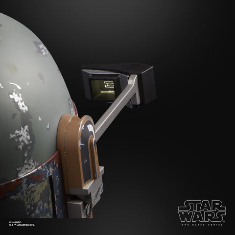 Hasbro - Star Wars: The Black Series - Wearable Premium Electronic Boba Fett Helmet (1:1 Scale)