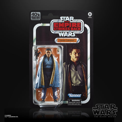 Hasbro - Star Wars: The Black Series - 40th Anniversary - Set of 5 (Hoth Rebel Soldier, Lando Calrissian, TIE Fighter Pilot, Luke Skywalker, R2-D2)