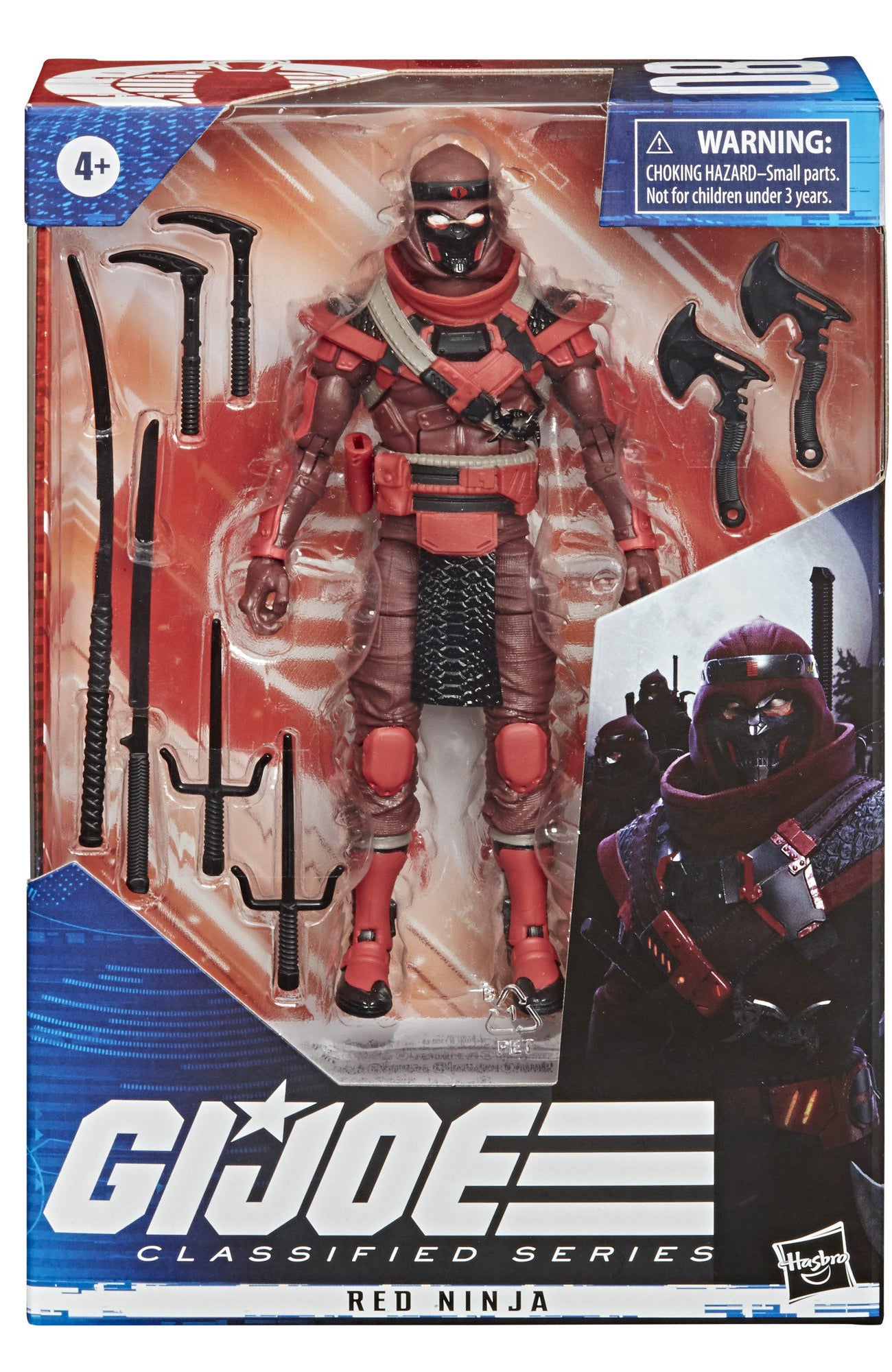 Hasbro - G.I. Joe Classified - Wave 2 Set of 6 (Cobra Commander, Gung Ho, Red Ninja)