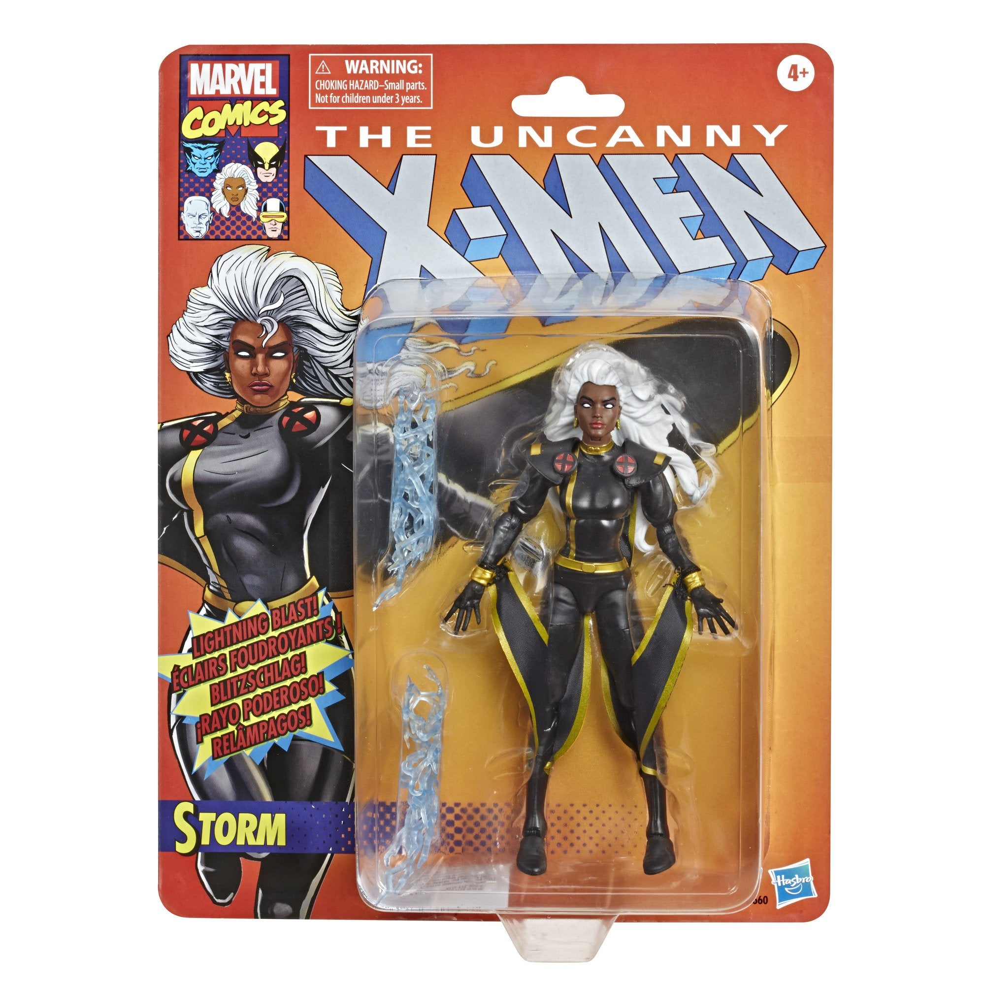 Hasbro - Marvel Legends - Retro Collection - The Uncanny X-Men - Storm (Black Costume)