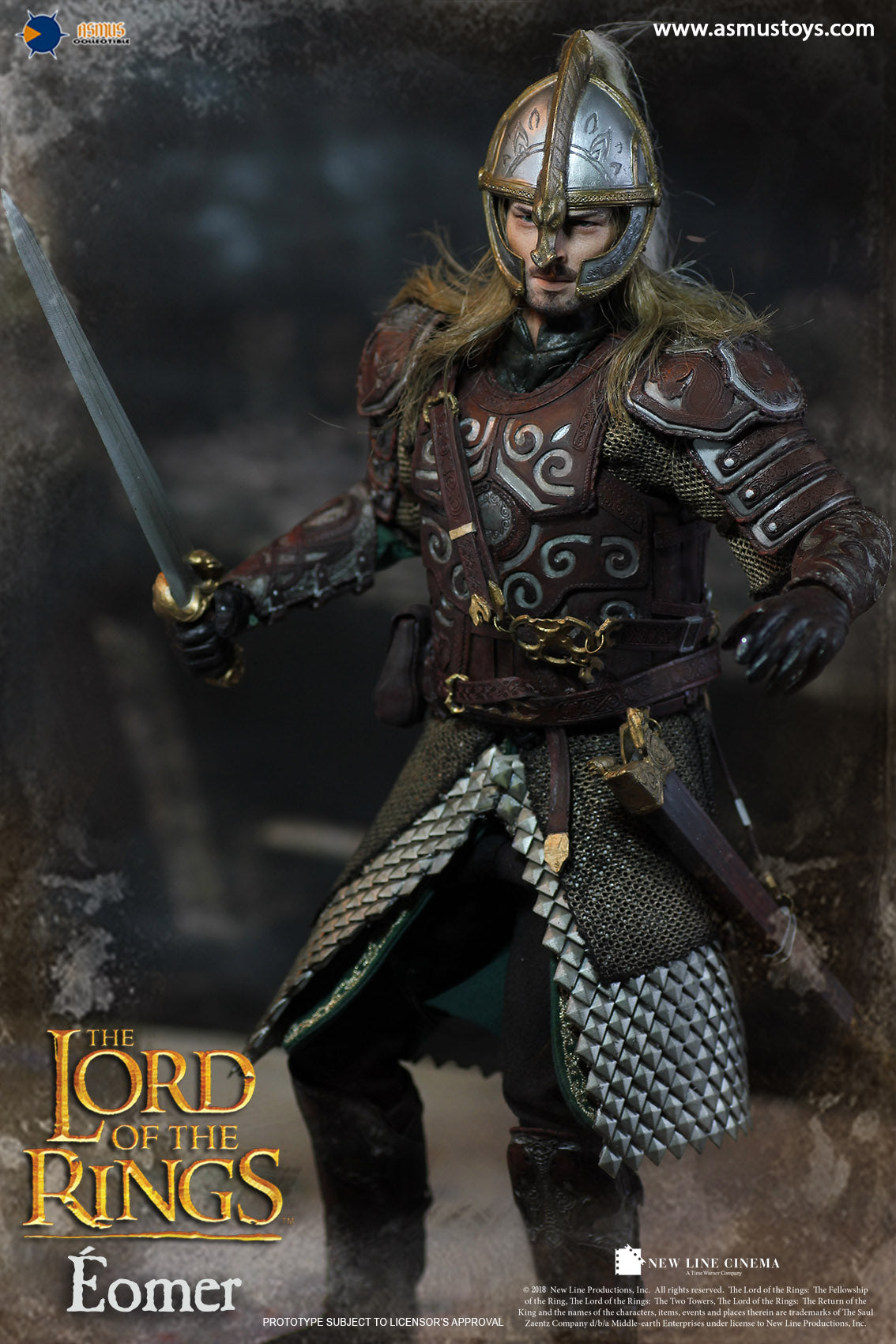 Asmus Toys - Heroes of Middle-Earth - Lord of the Rings - Eomer (1/6 Scale)
