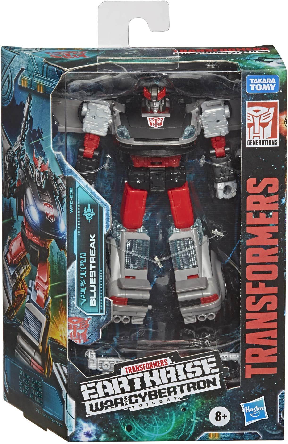 Hasbro - Transformers Generations - WFC: Earthrise - Deluxe Bluestreak