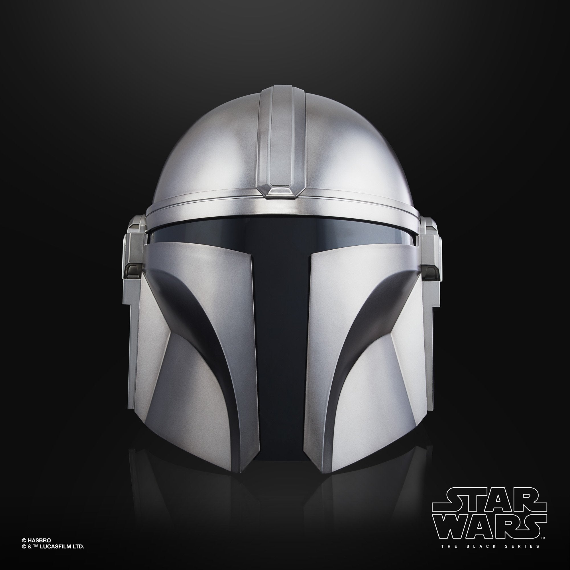 Hasbro - Star Wars: The Black Series - Wearable Premium Electronic The Mandalorian Helmet (1/1 Scale)