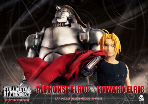 ThreeZero - Fullmetal Alchemist: Brotherhood - Edward & Alphonse Elric (1/6 Scale) (2-Pack)