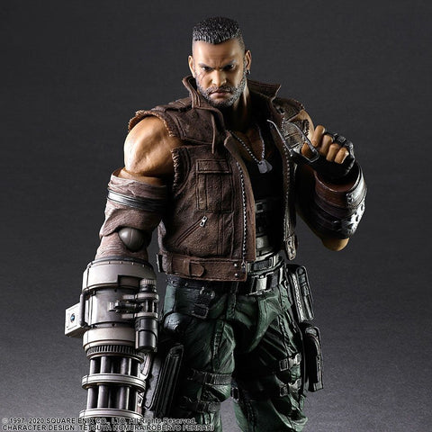 (IN STOCK) Square Enix - Play Arts Kai - Final Fantasy VII Remake - Barret Wallace (Ver. 2)
