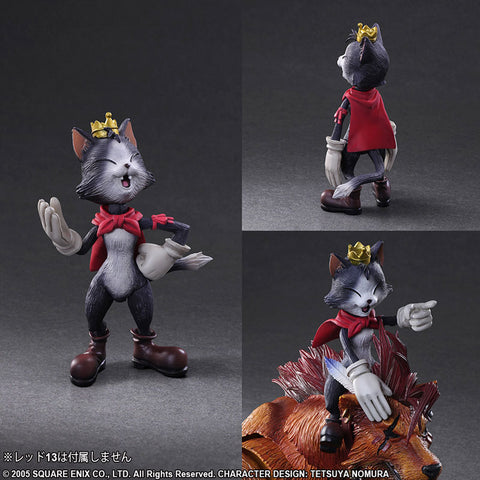 Play Arts Kai - Final Fantasy VII: Advent Children - Cid Highwind and Cait Sith