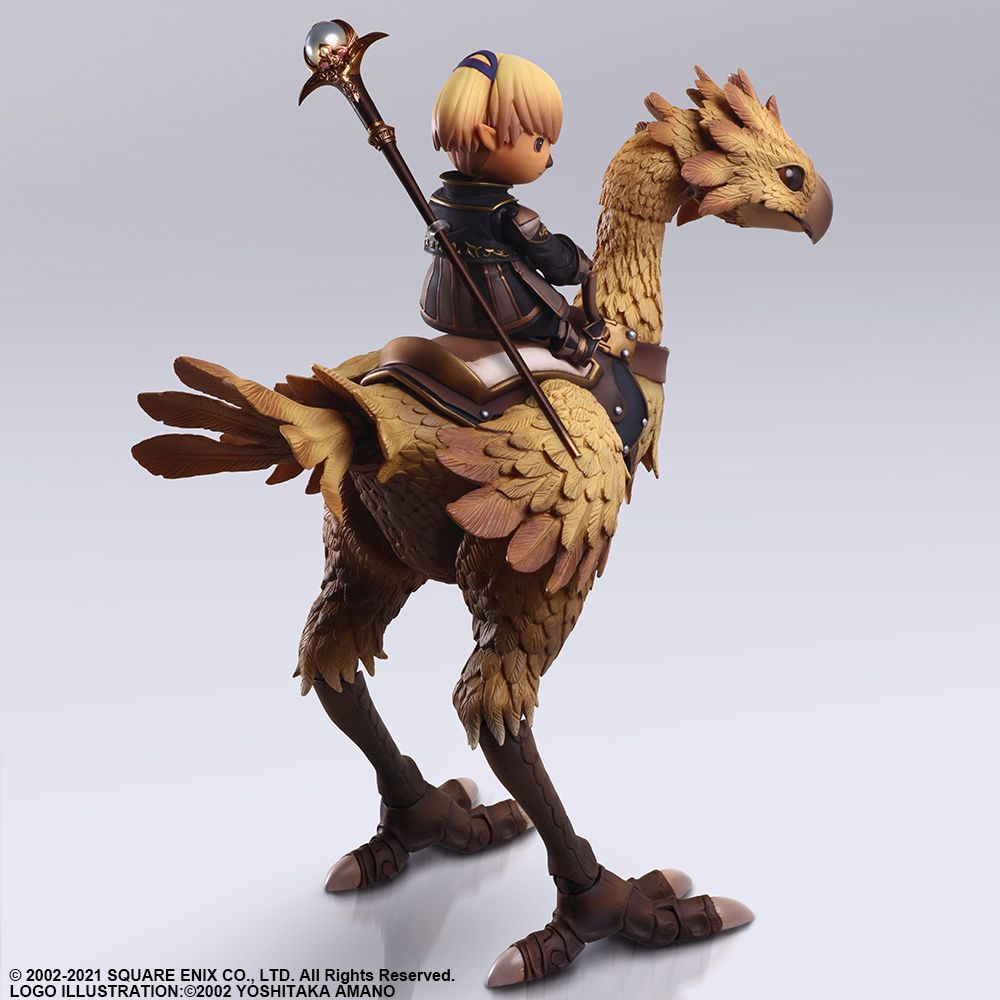 Square Enix - Bring Arts - Final Fantasy XI - Lady Shantotto & Chocobo