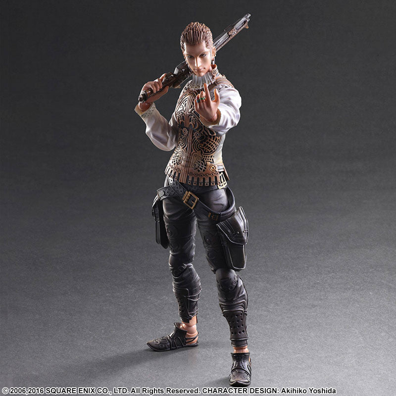 Play Arts Kai - Final Fantasy XII - Balthier - Marvelous Toys - 3