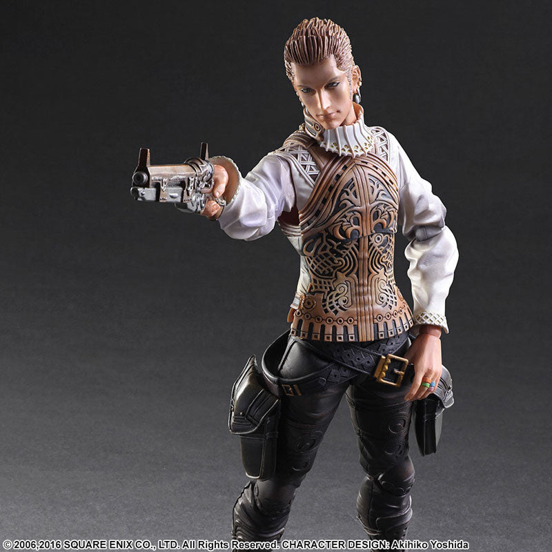 Play Arts Kai - Final Fantasy XII - Balthier - Marvelous Toys - 6
