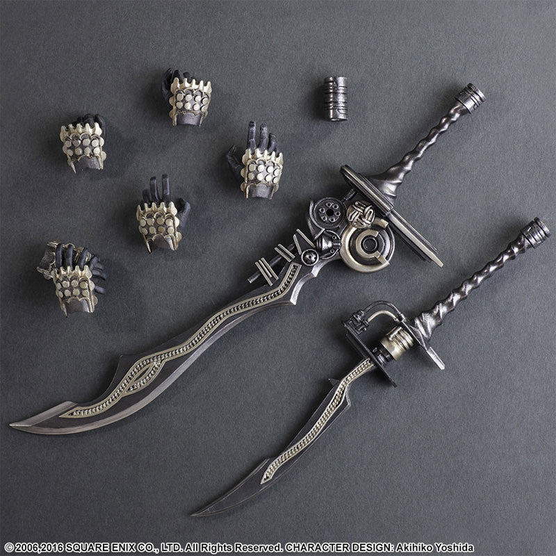 Play Arts Kai - Final Fantasy XII - Gabranth - Marvelous Toys - 8