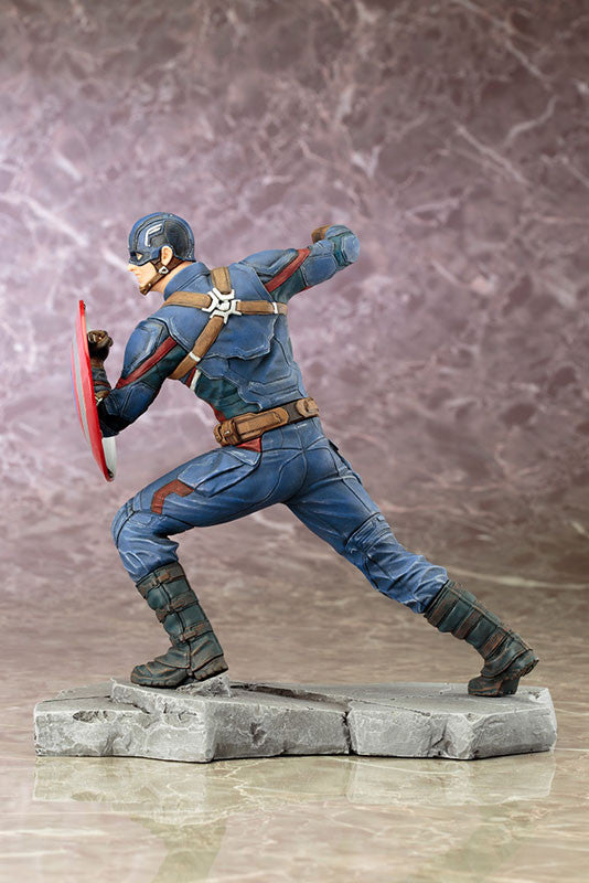 (IN STOCK) Kotobukiya - Captain America: Civil War - Captain America ARTFX+ Statue - Marvelous Toys - 2