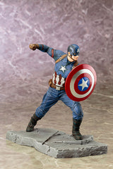 (IN STOCK) Kotobukiya - Captain America: Civil War - Captain America ARTFX+ Statue - Marvelous Toys - 3