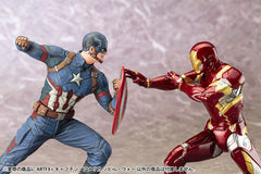 (IN STOCK) Kotobukiya - Captain America: Civil War - Captain America ARTFX+ Statue - Marvelous Toys - 6