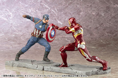 (IN STOCK) Kotobukiya - Captain America: Civil War - Captain America ARTFX+ Statue - Marvelous Toys - 7