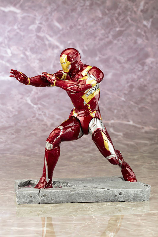 (IN STOCK) Kotobukiya - Captain America: Civil War - Iron Man Mark XLVI (46) ARTFX+ Statue - Marvelous Toys - 2