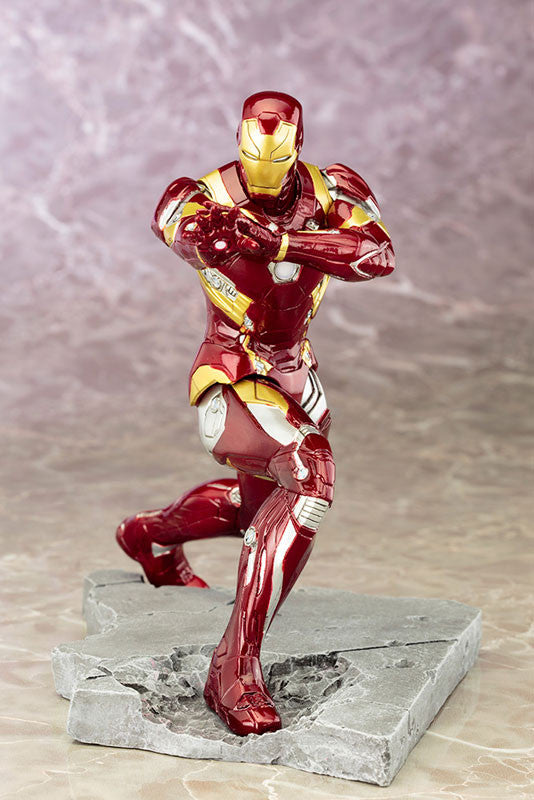 (IN STOCK) Kotobukiya - Captain America: Civil War - Iron Man Mark XLVI (46) ARTFX+ Statue - Marvelous Toys - 4