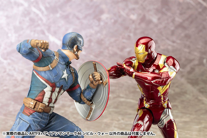 (IN STOCK) Kotobukiya - Captain America: Civil War - Iron Man Mark XLVI (46) ARTFX+ Statue - Marvelous Toys - 6
