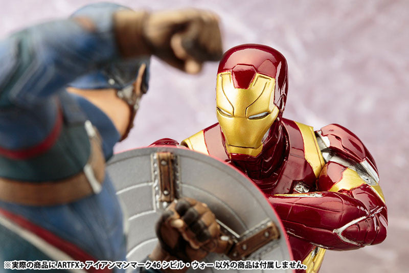 (IN STOCK) Kotobukiya - Captain America: Civil War - Iron Man Mark XLVI (46) ARTFX+ Statue - Marvelous Toys - 5