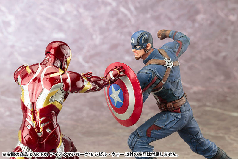 (IN STOCK) Kotobukiya - Captain America: Civil War - Iron Man Mark XLVI (46) ARTFX+ Statue - Marvelous Toys - 8