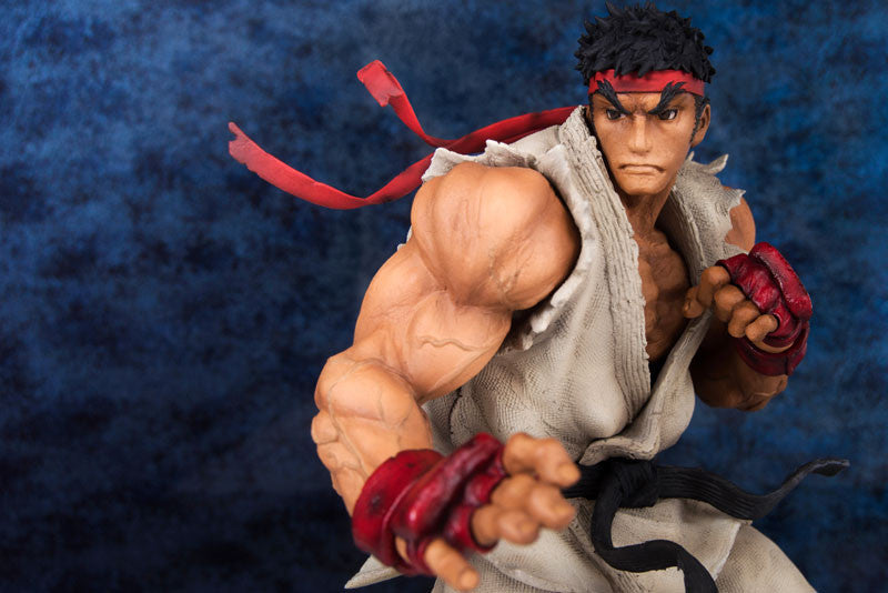 Embrace Japan - Street Fighters III 3rd Strike - Fighters Legendary Ryu (Milestone Limited Distribution) (1/8 Scale) - Marvelous Toys - 8