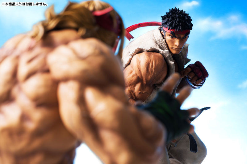 Embrace Japan - Street Fighters III 3rd Strike - Fighters Legendary Ryu (Milestone Limited Distribution) (1/8 Scale) - Marvelous Toys - 9