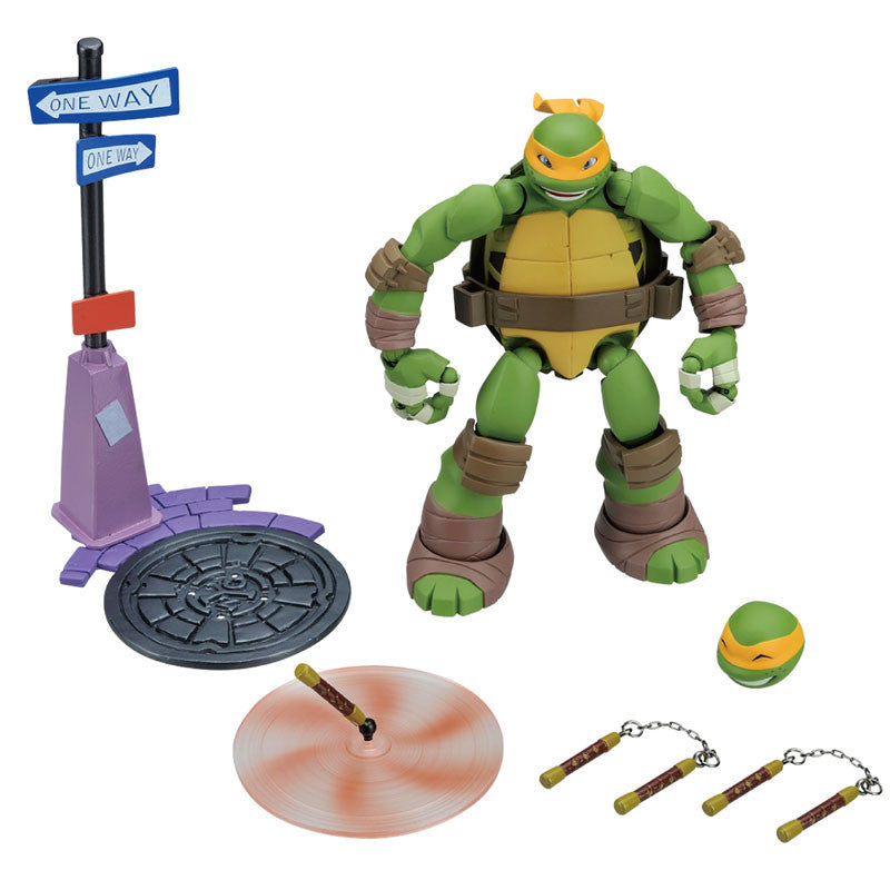 Kaiyodo - Revoltech - Teenage Mutant Ninja Turtles: Michelangelo - Marvelous Toys - 5