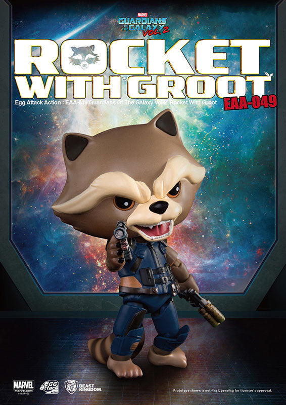 Egg Attack Action - EAA-049 - Guardians of the Galaxy Vol. 2 - Rocket Raccoon with Baby Groot