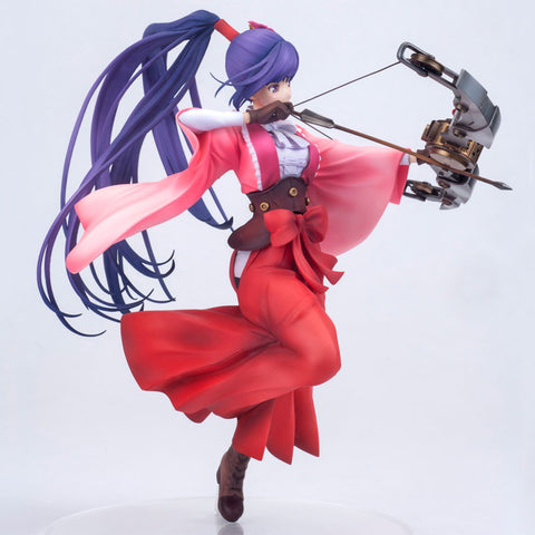 Hdge technical statue No.18 - Kabaneri of the Iron Fortress - Ayame Yomogawa (Haruhiko Mikimoto Supervision Ver.)