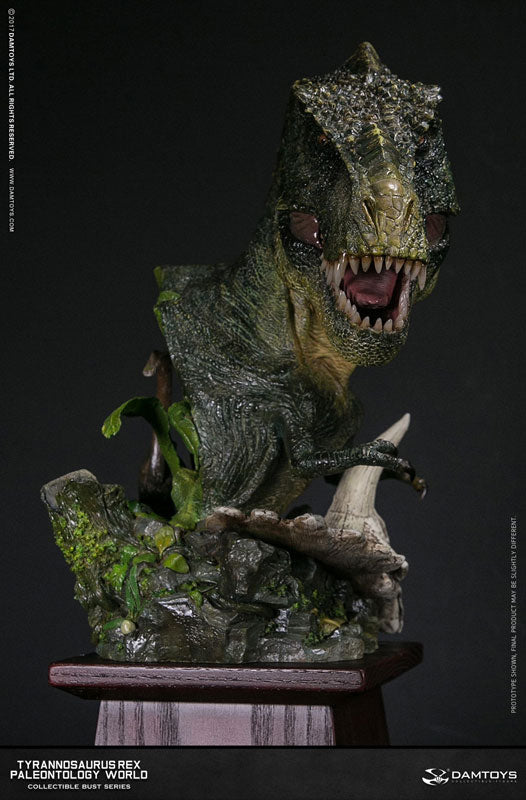 Damtoys - Collectible Bust Series - Paleontology World - Tyrannosaurus Rex Bust (Green)