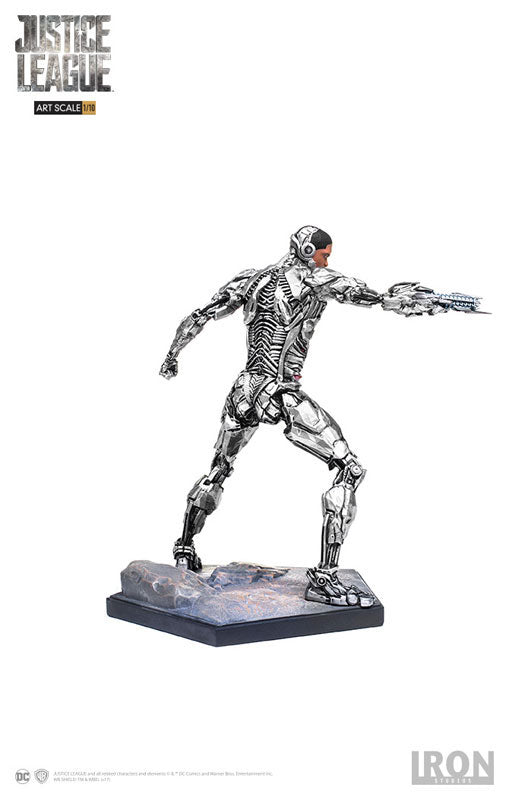 Iron Studios - 1:10 Art Scale Statue - Justice League - Cyborg