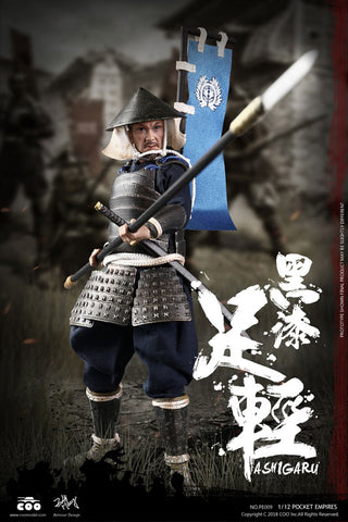 Coo Model - 1/12 Palm Empire - Ashigaru (Black Armor)