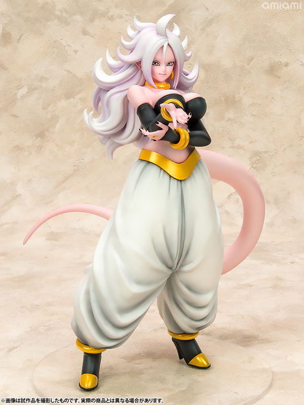 Megahouse dragonball gals dragon ball fighter z android 21 transformed marvelous toys - Dragon ball z 21 ...