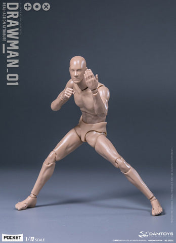Dam Toys - Pocket Elite Series - DPS01 - Real-Action Attribute - Drawman_01 (1/12 Scale)