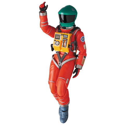 Medicom - MAFEX No. 110 - 2001: A Space Odyssey - Space Suit (Green Helmet & Orange Suit Ver.)
