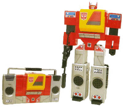 Hasbro - Transfomers Generation One - Blaster (Reissue)