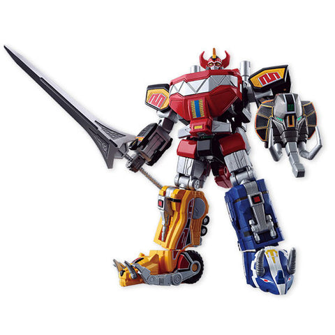 Bandai - Shokugan - Super Mini-Pla - Shinka Gattai Daizyujin (Set of 5) (Original Power Rangers Megazord) (Reissue)