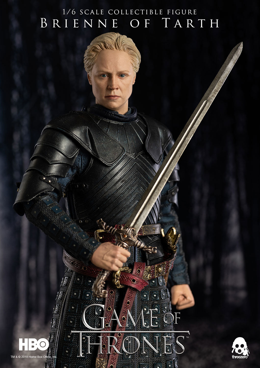 ThreeZero - Game of Thrones (Season 7) - Brienne of Tarth (Standard) (1/6 Scale)