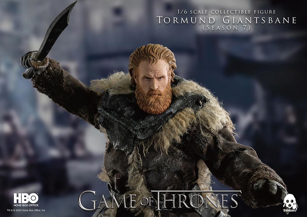 ThreeZero - Game of Thrones - Tormund Giantsbane (1/6 Scale)