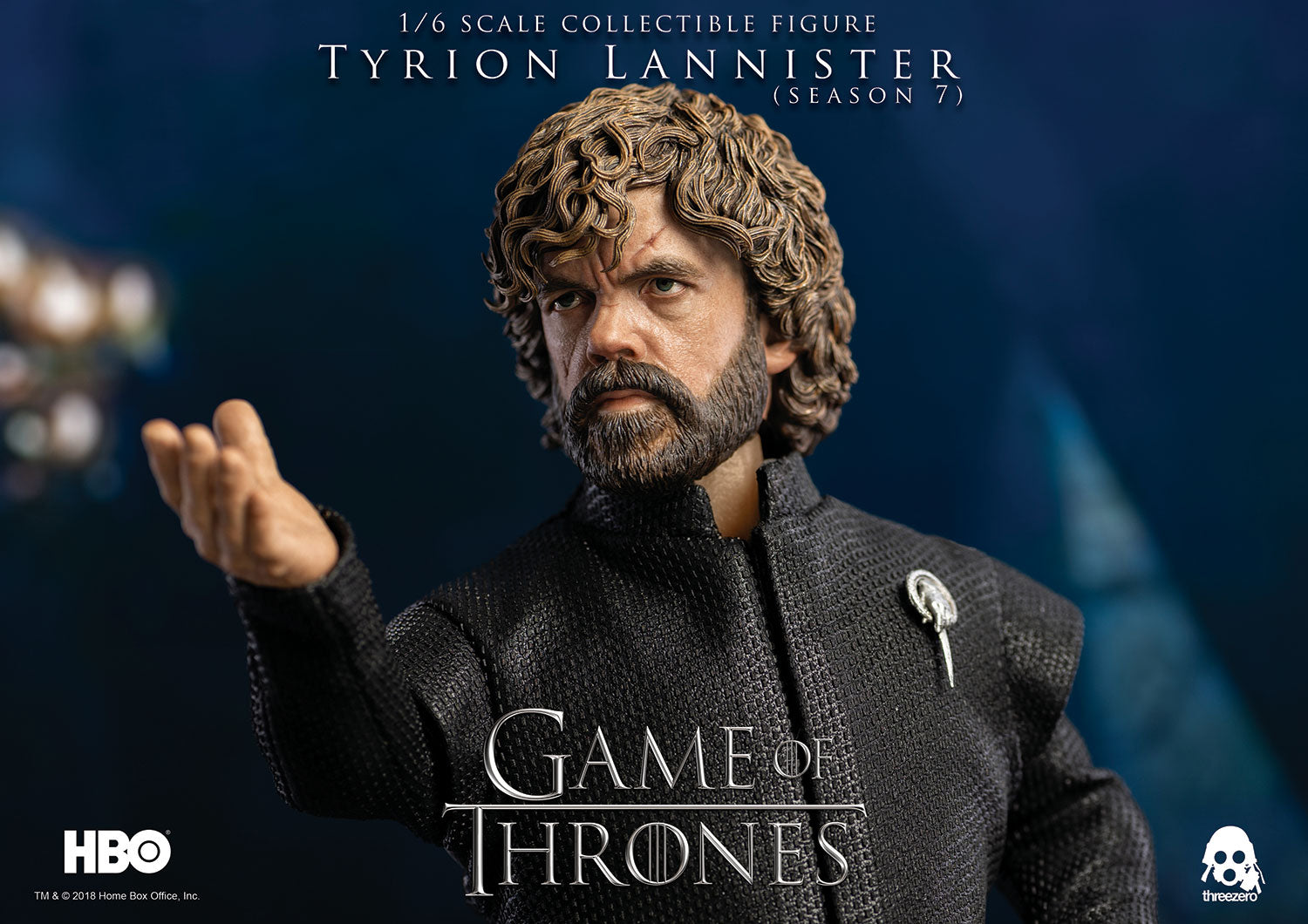 ThreeZero - Game of Thrones - Tyrion Lannister (Season 7)(Standard)(1/6 Scale)