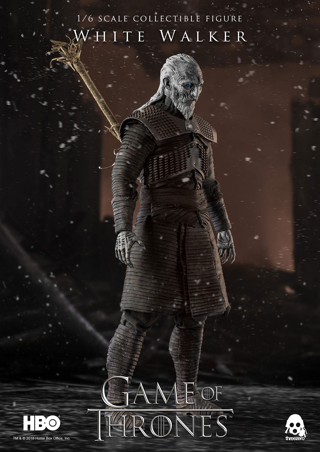 ThreeZero - Game of Thrones - White Walker (Standard)