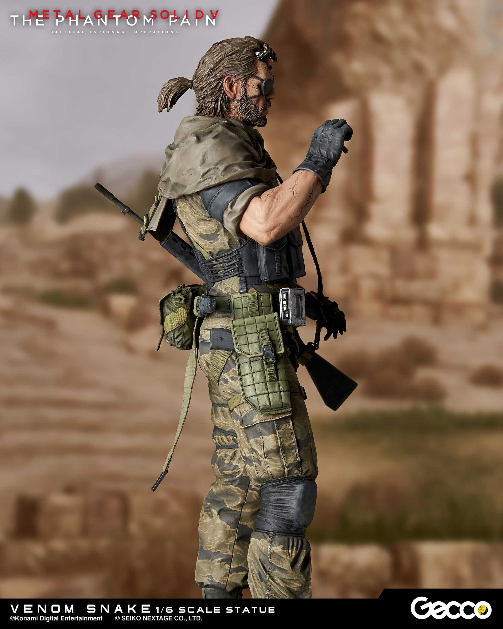 Gecco - Metal Gear Solid V: The Phantom Pain - Venom Snake 1/6 Scale Statue - Marvelous Toys - 2