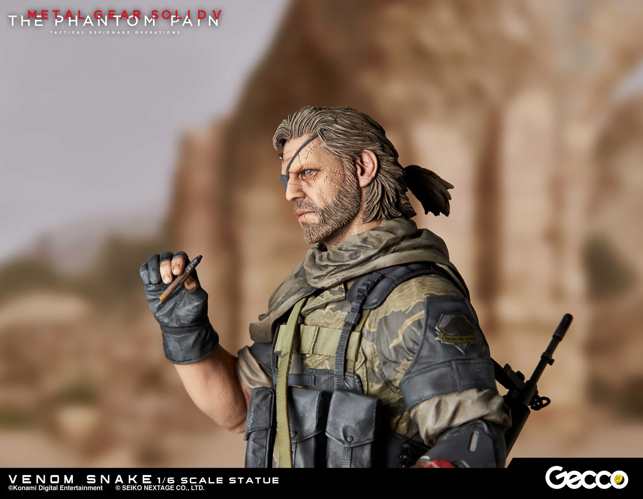 Gecco - Metal Gear Solid V: The Phantom Pain - Venom Snake 1/6 Scale Statue - Marvelous Toys - 6
