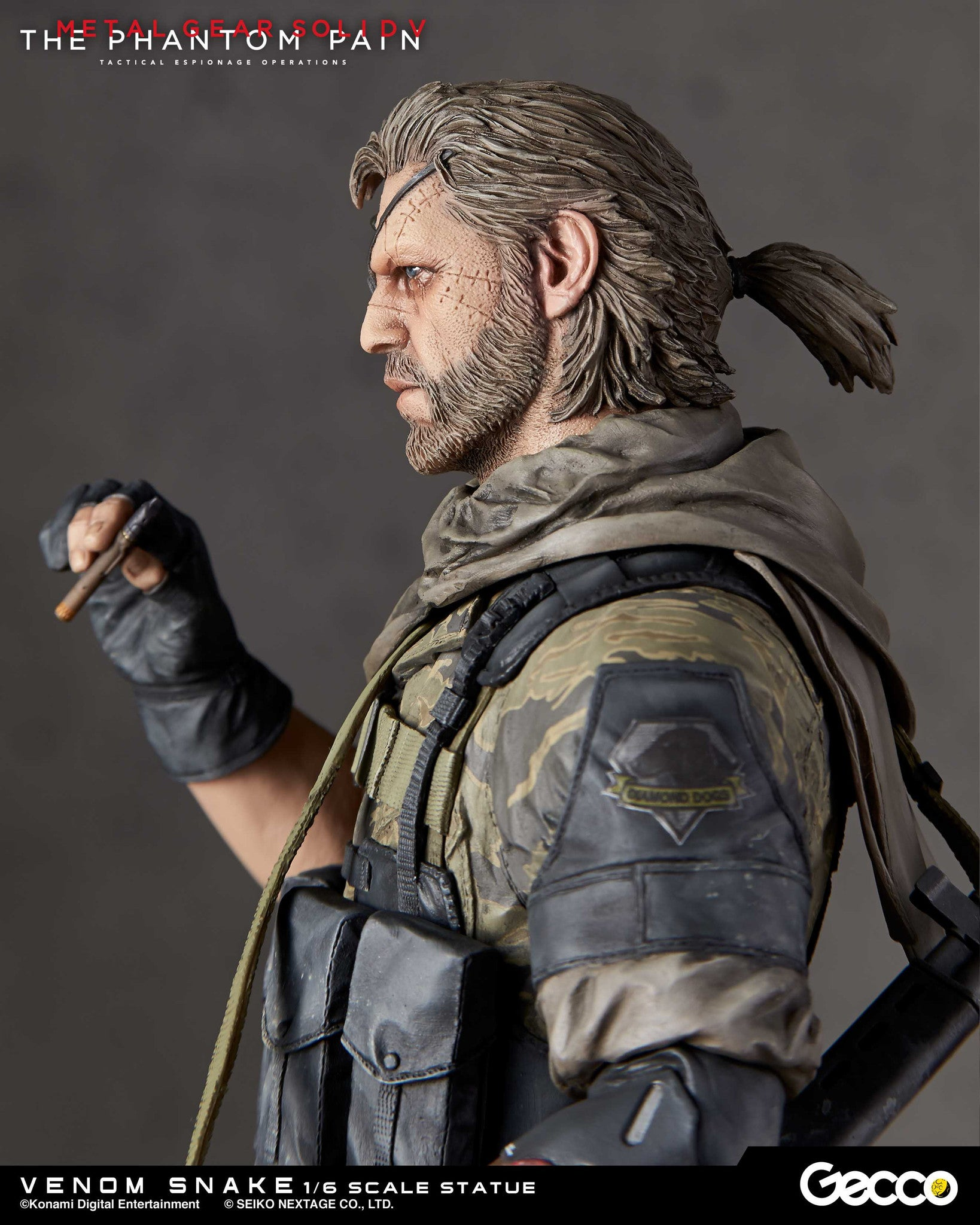 Gecco - Metal Gear Solid V: The Phantom Pain - Venom Snake 1/6 Scale Statue - Marvelous Toys - 9