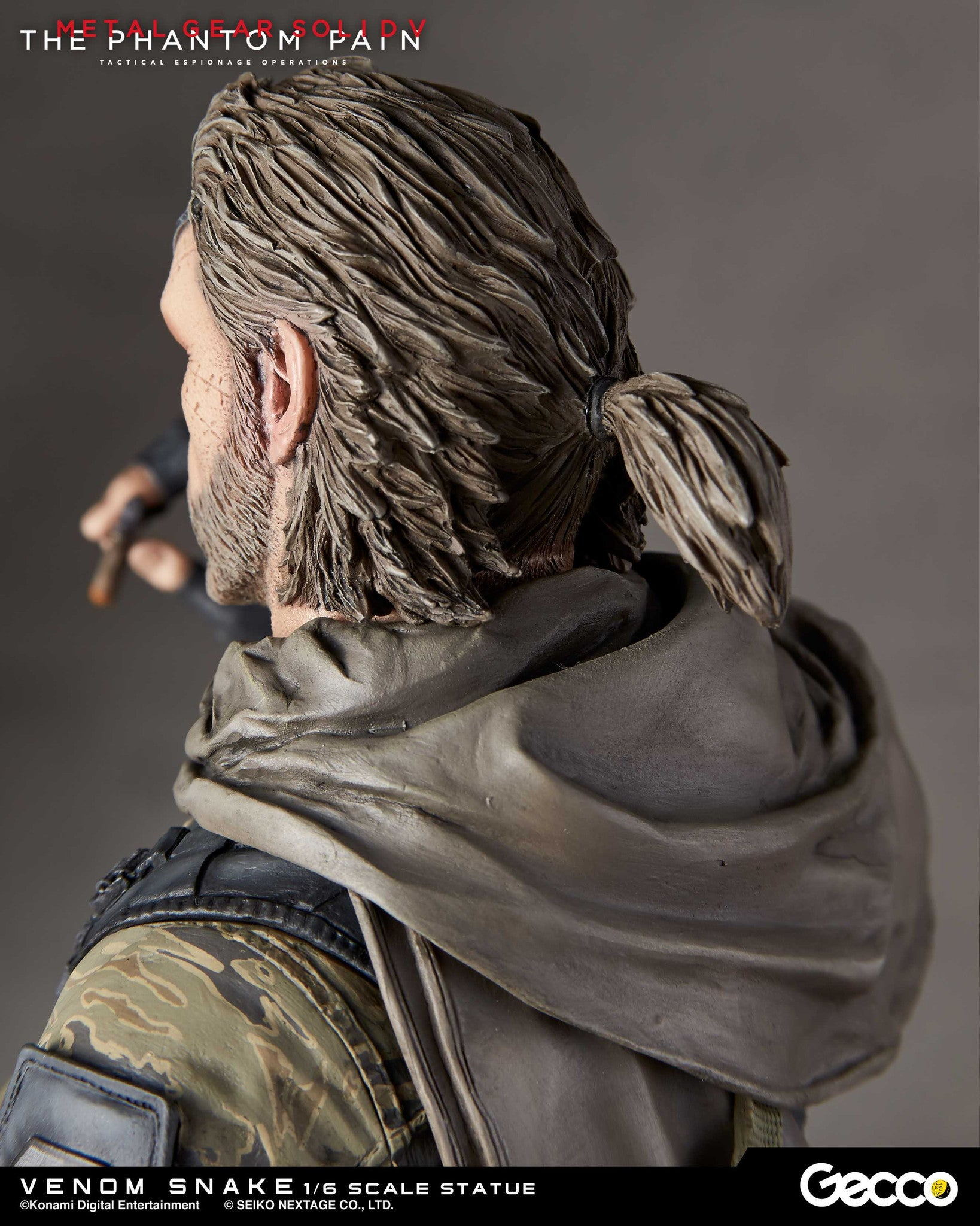 Gecco - Metal Gear Solid V: The Phantom Pain - Venom Snake 1/6 Scale Statue - Marvelous Toys - 10
