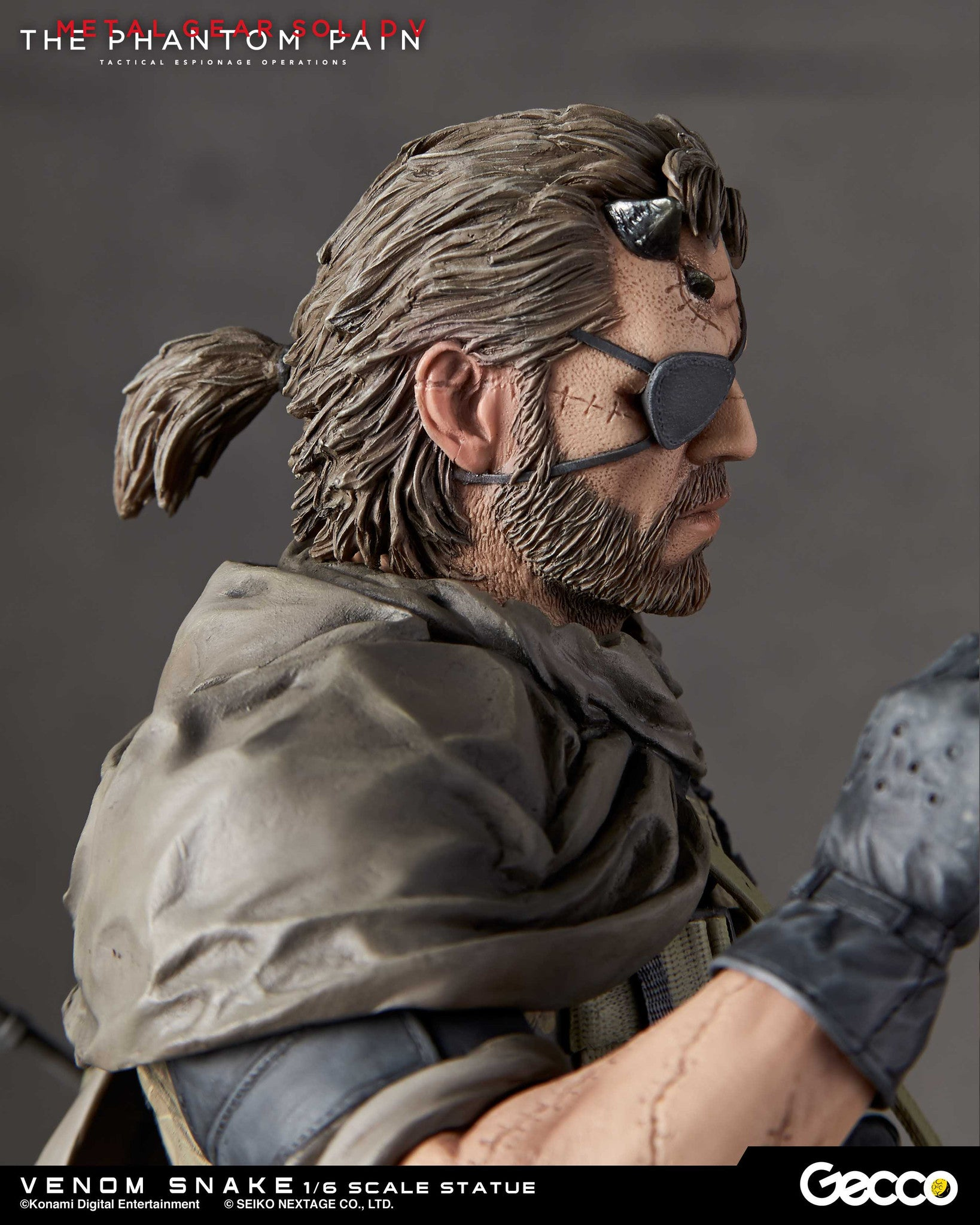 Gecco - Metal Gear Solid V: The Phantom Pain - Venom Snake 1/6 Scale Statue - Marvelous Toys - 11