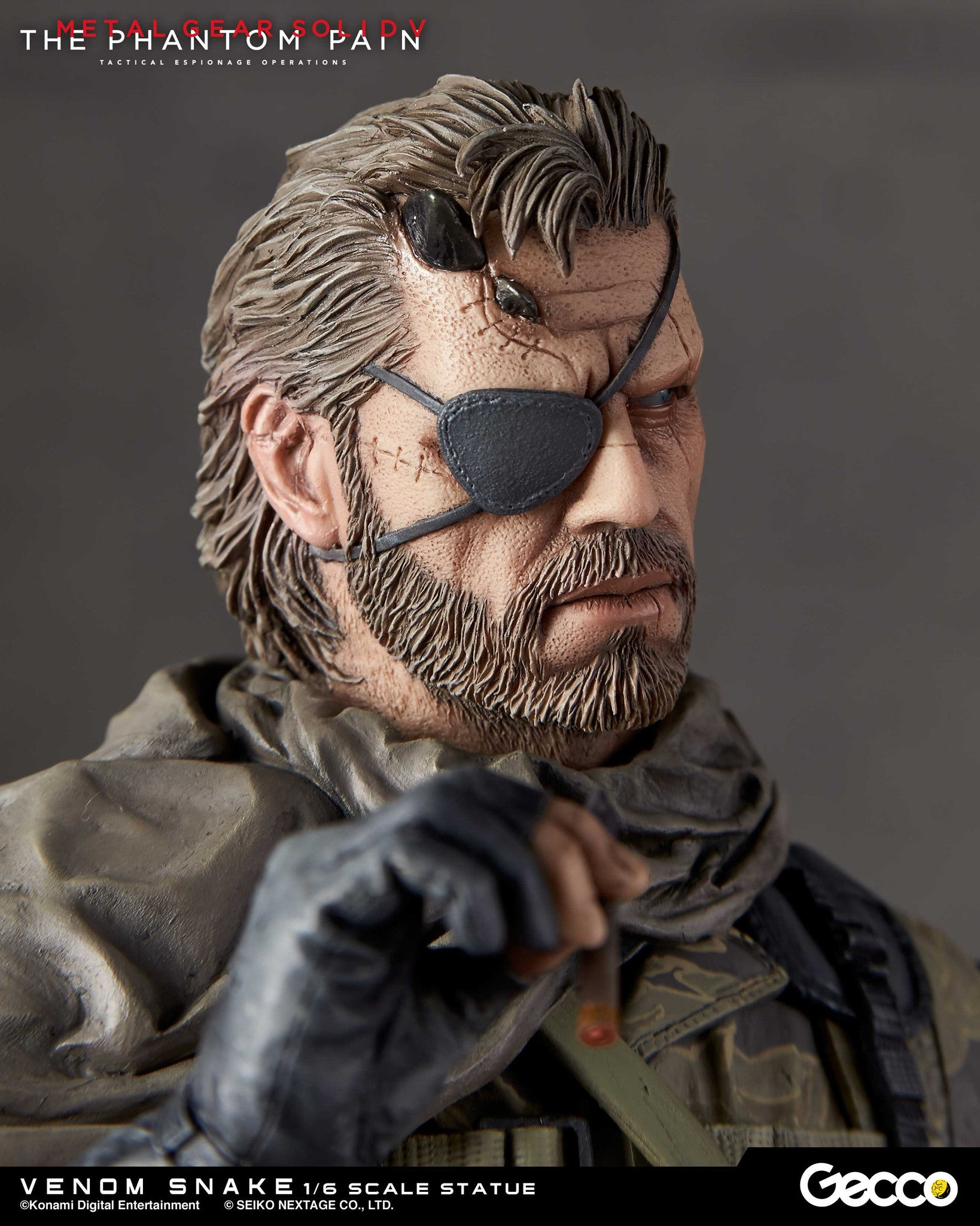 Gecco - Metal Gear Solid V: The Phantom Pain - Venom Snake 1/6 Scale Statue - Marvelous Toys - 12