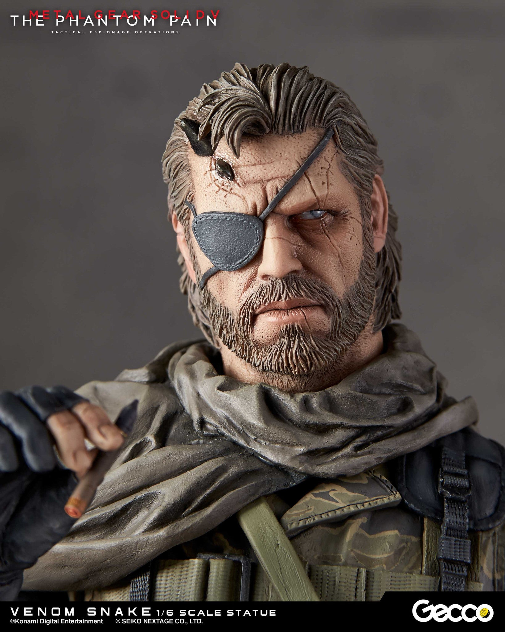 Gecco - Metal Gear Solid V: The Phantom Pain - Venom Snake 1/6 Scale Statue - Marvelous Toys - 13