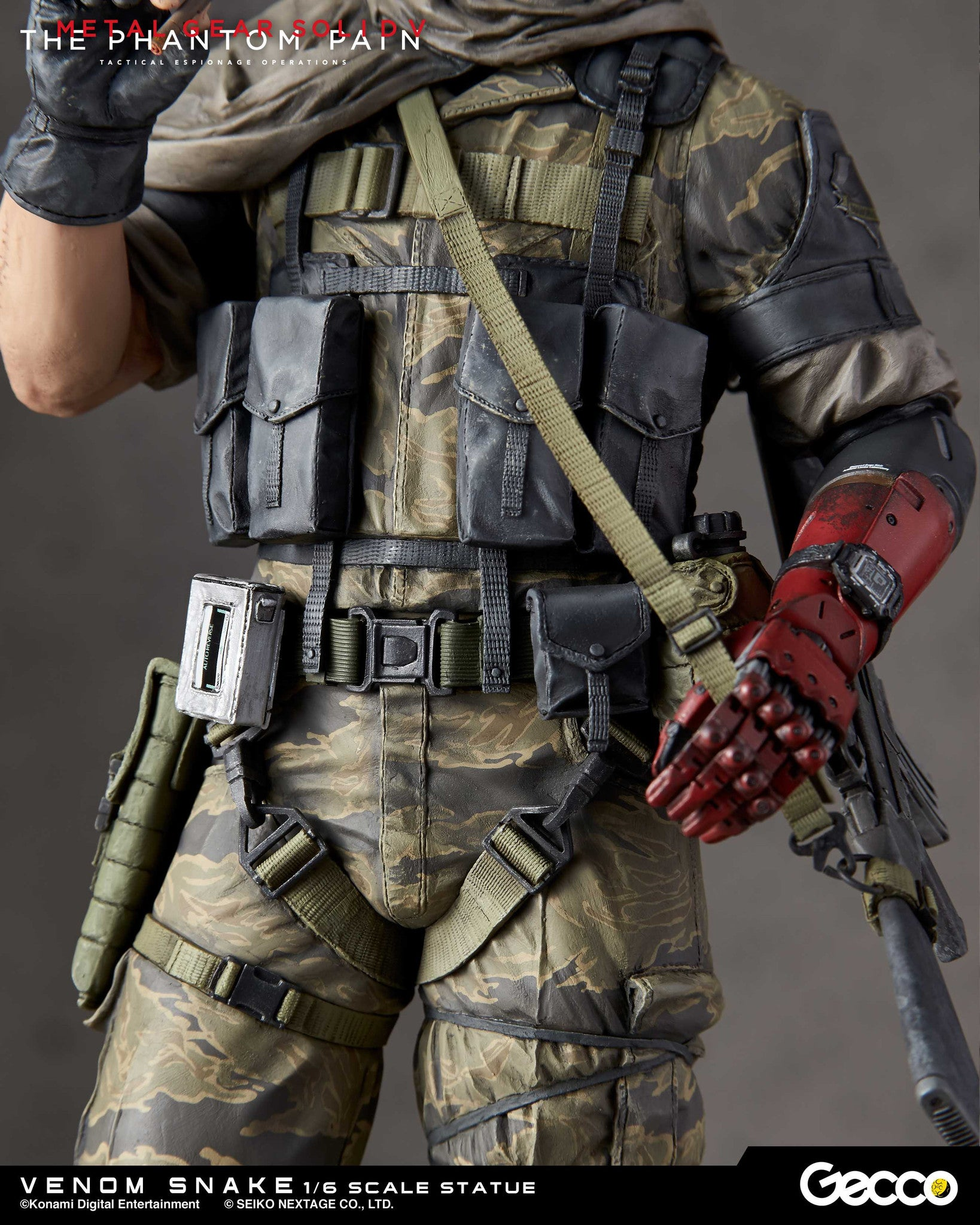 Gecco - Metal Gear Solid V: The Phantom Pain - Venom Snake 1/6 Scale Statue - Marvelous Toys - 14