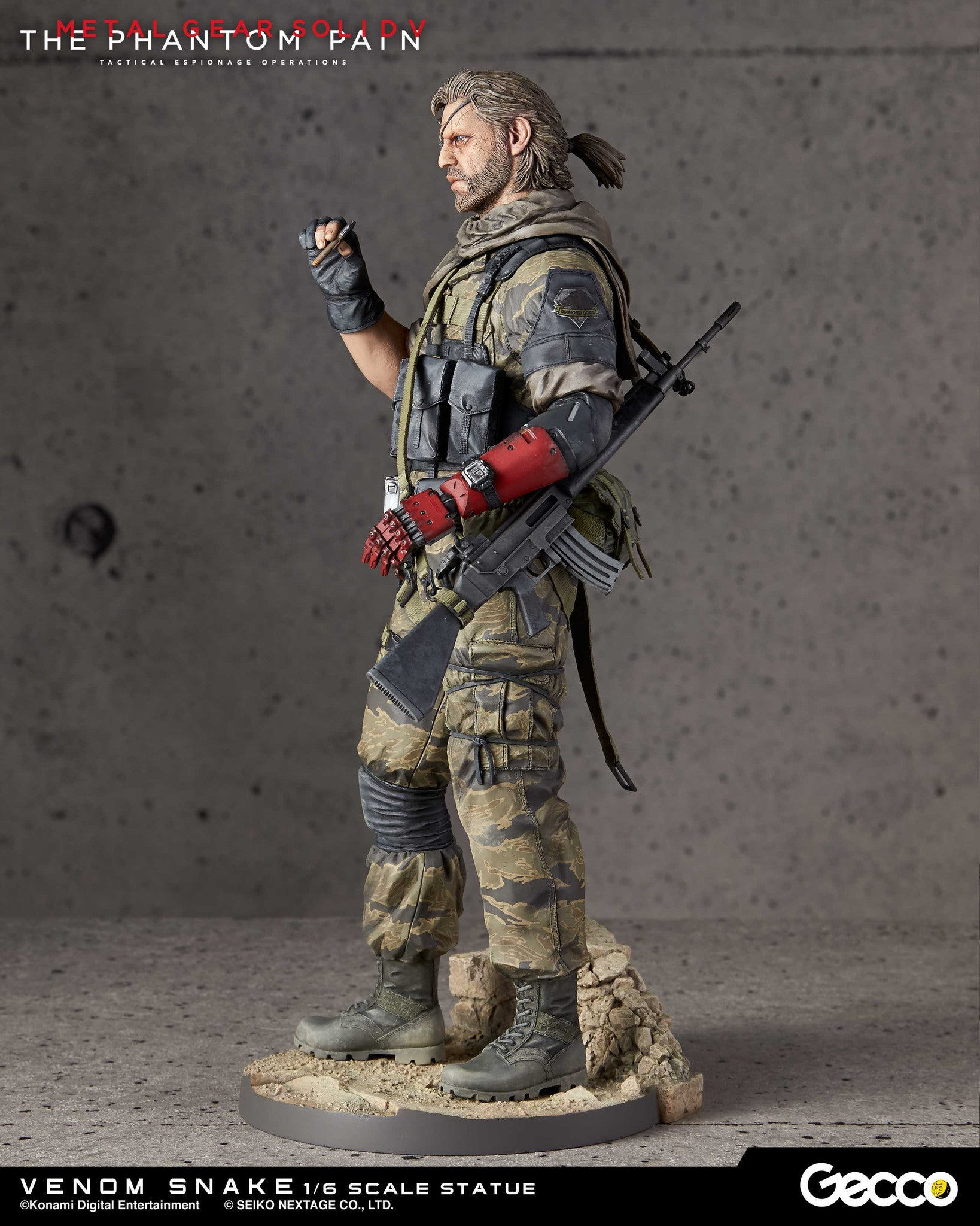 Gecco - Metal Gear Solid V: The Phantom Pain - Venom Snake 1/6 Scale Statue - Marvelous Toys - 19