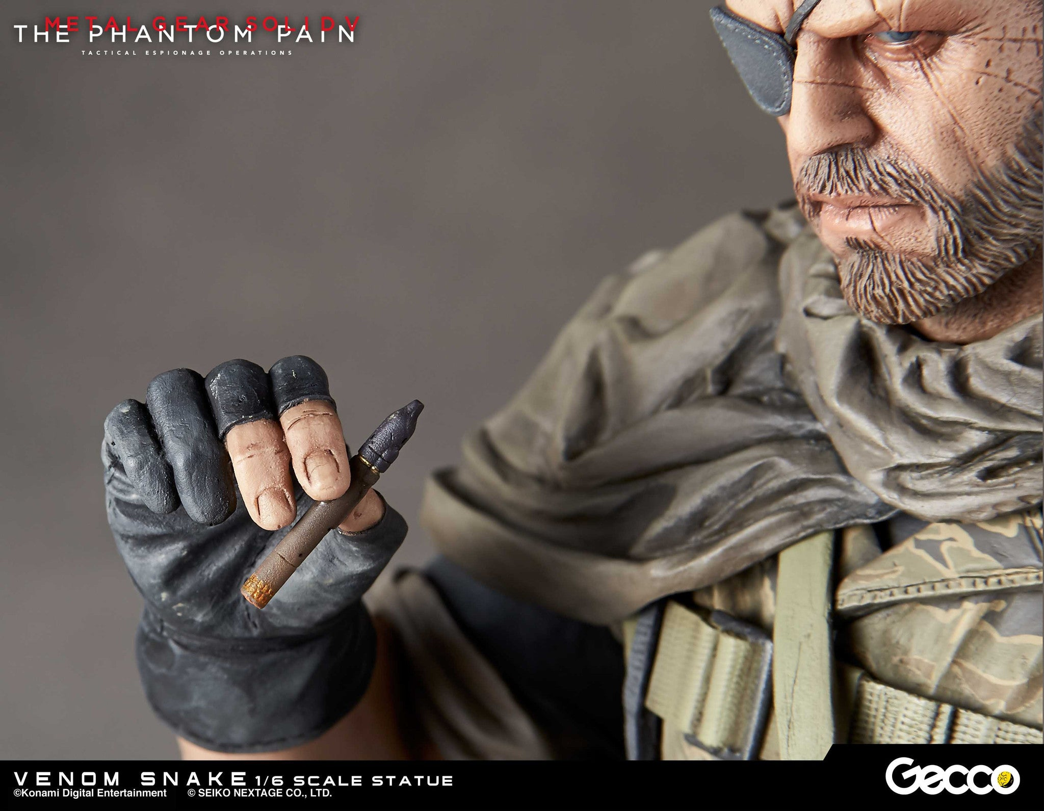Gecco - Metal Gear Solid V: The Phantom Pain - Venom Snake 1/6 Scale Statue - Marvelous Toys - 26